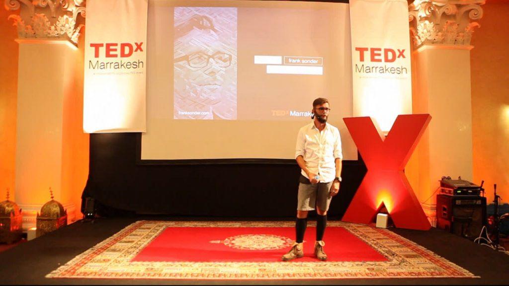 Frank B. Sonder as Keynote Speaker at TEDx Marrakesh